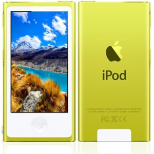 Apple iPod Nano 7Gen 16Gb Yellow