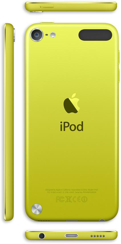 iPod Touch 5Gen 32GB Yellow купить Киев. Низкая цена в Apple-line.