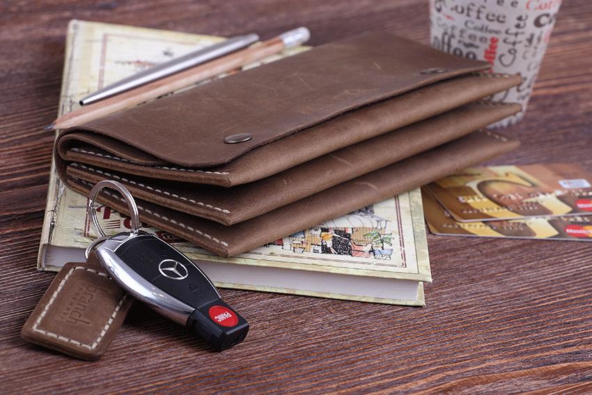 Клатч-портмоне ручной работы от мастерской Бренч
