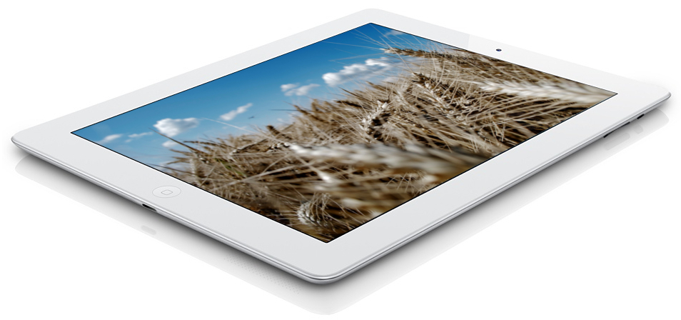 Apple iPad 4 Wi-Fi + LTE 16GB White самая низкая цена на iPad4 с дисплеем Retina в Киеве.