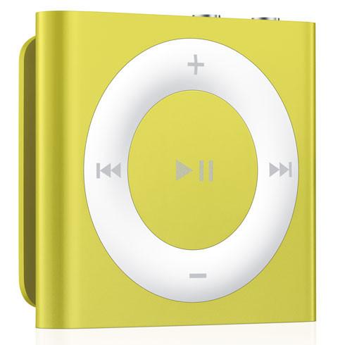 Низкая стоимость на Apple iPod Shuffle Yellow в Киеве.