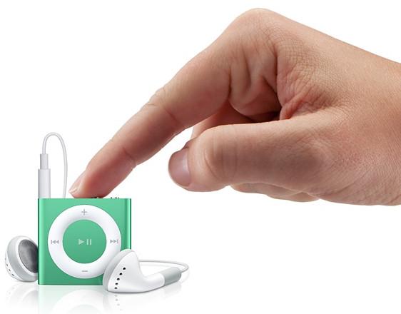 Низкая стоимость на Apple iPod Shuffle Green в Киеве.