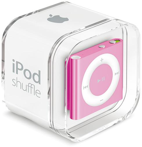 Низкая стоимость на Apple iPod Shuffle Pink в Киеве.