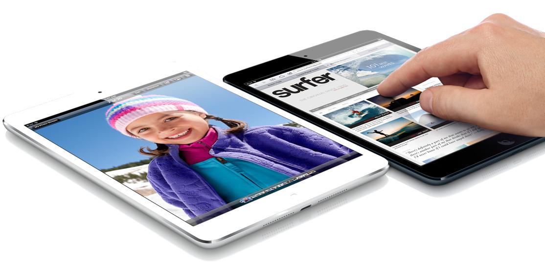 Самый тонки в мире планшет в Киеве. iPad mini на Apple line.
